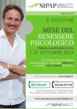 Vai alla pagina del mese del benessere psicologico