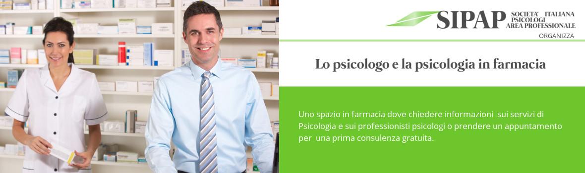 Psicologi in farmacia