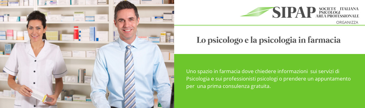 Psicologi in farmacia